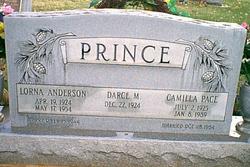 Lorna Bell <I>Anderson</I> Prince