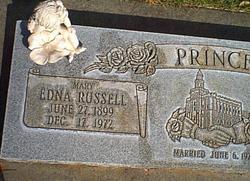 Mary Edna <I>Russell</I> Prince