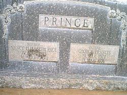 Nancy Elizabeth <I>Pace</I> Prince