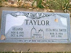 Esta Bell <I>Smith</I> Taylor