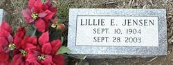 Lillie Emelia <I>Christensen</I> Jensen