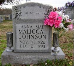 Anna Mae <I>Malicoat</I> Johnson