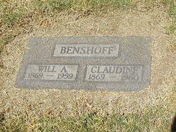 Claudine De Forest <I>Stevens</I> Benshoff