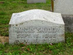 Marcus Snyder