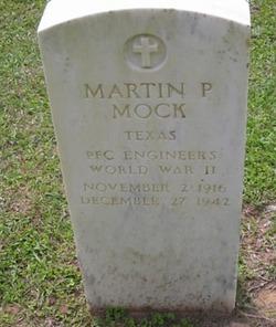 PFC Martin P Mock