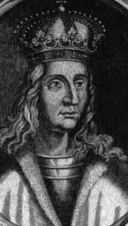 King Vaclav (Wenceslas) IV of Bohemia