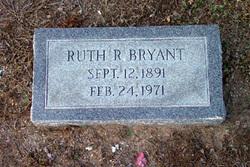 "Ruth ""Rucy"" <I>Robinson</I> Bryant"