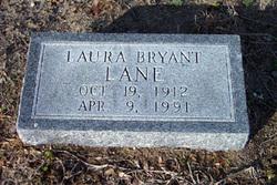 Laura <I>Bryant</I> Lane