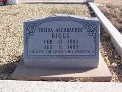 Freida <I>Aschbacher</I> Biggs