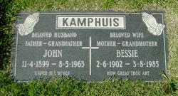 "Bouktje ""Bessie"" <I>Snip</I> Kamphuis"