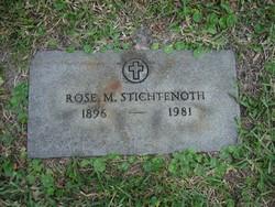 Rose M Stichtenoth