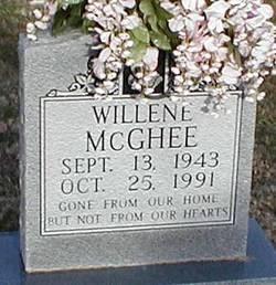 Willene <I>Bowman</I> McGhee