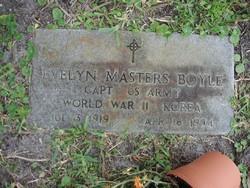 Evelyn <I>Masters</I> Boyle