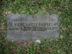 Nancy Lois Ramsey
