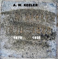 Arthur W Keeler