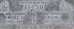 Merle Lline <I>Walters</I> Kelso