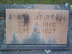 Sabra <I>Yawn</I> McArthur