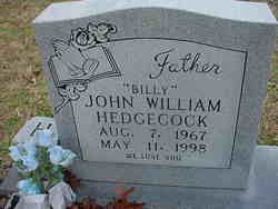 "John William ""Billy"" Hedgecock"