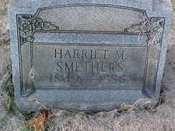 Harriet M Smethers