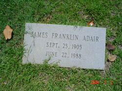 James Franklin Adair