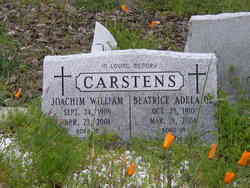 "Joachim William ""Will"" Carstens"