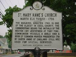 Saint Mary Annes Episcopal Church Cemetery