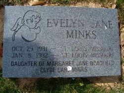 Evelyn Jane Minks