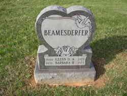 Barbara Helena <I>Lewis</I> Beamesderfer