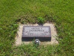 Archie Frank Zasimowich