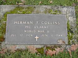PFC Herman F Collins