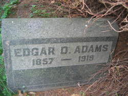 Edgar D Adams