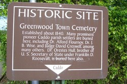 Greenwood Town Cemetery