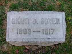 Grant D Boyer