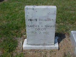 Infant Daughter Dixon