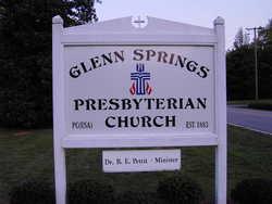 Glenn Springs Presbyterian Church Cemetery