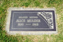 Alice <I>Spaan</I> Mulder