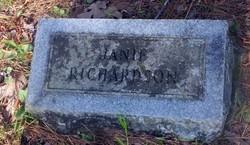 Janie Richardson