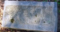 Mary Woodsia <I>Blackerby</I> Oliver