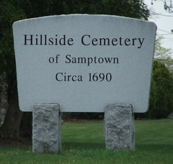 Hillside Cemetery of Samptown