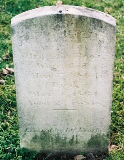 Pvt Benjamin F Wright