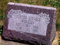Bertha <I>Stegall</I> Woolsey