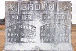 F Bowden Brown