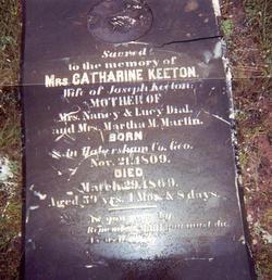 Catherine <I>Ward</I> Keeton