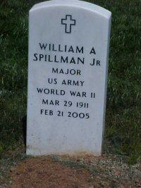 Maj William Allie Spillman, Jr
