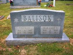 Marjorie E Balisok