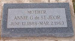 Annie Eleanor <I>Green</I> de St Jeor