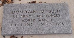 Donovan M. Bush