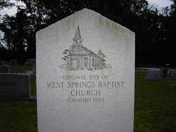 Westsprings Baptist Church Cemetery