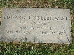 Sgt Edward J. Golebiewski