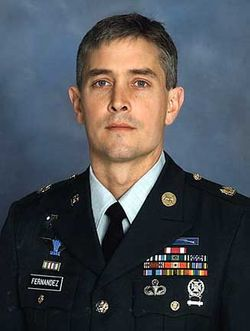 """MSGT George Andrew """"Boo"""" Fernandez"""